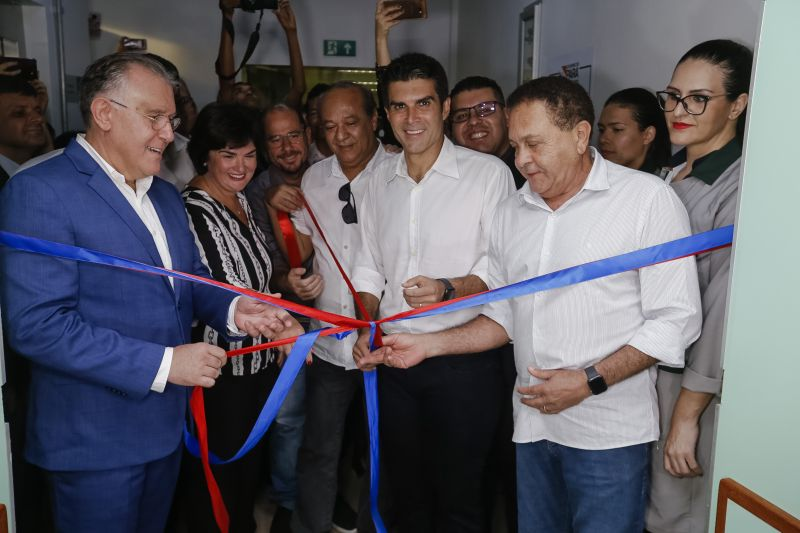 Governo inaugura Setor de Hemodiálise e amplia atendimento no Hospital Regional em Marabá