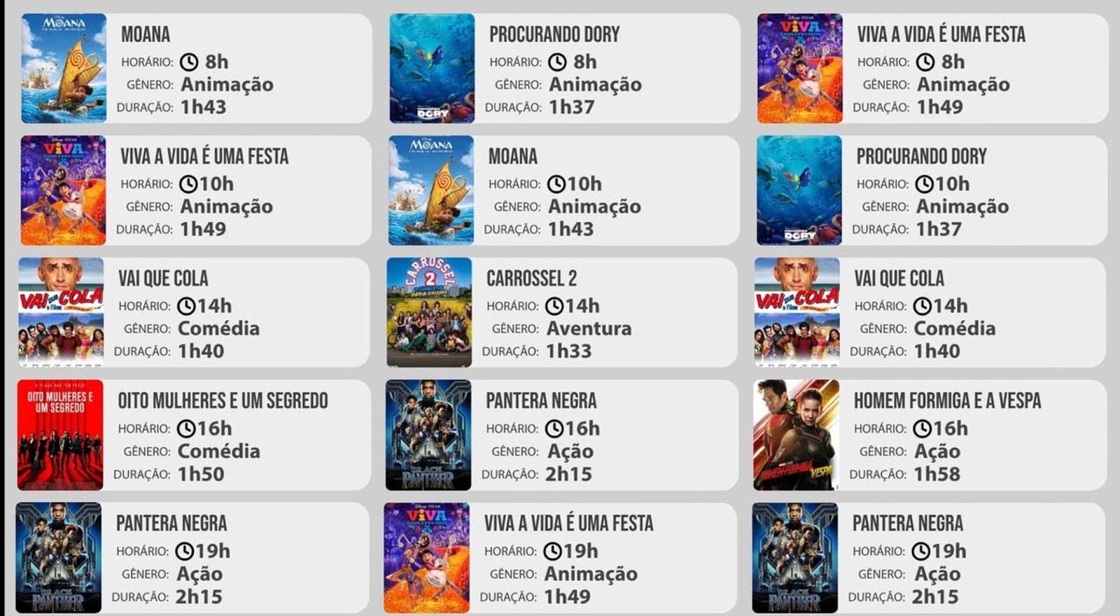 Cinema Intinerante chega em Marabá, nos dias 17, 18 e 19 de Janeiro