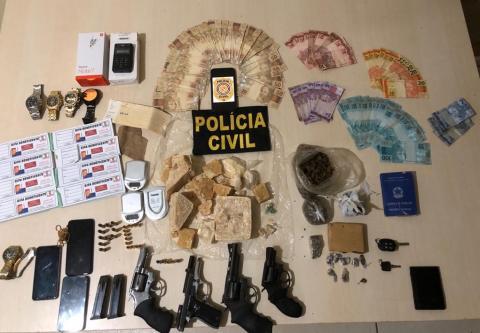 """Operação """"Fortis Pugna"""" da PC prende integrantes de facção criminosa apontados no homicídio ocorrido no último domingo, em Altamira no Pará"""