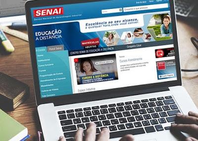 SENAI: 12 cursos profissionalizantes gratuitos online para fazer de graça durante a quarentena