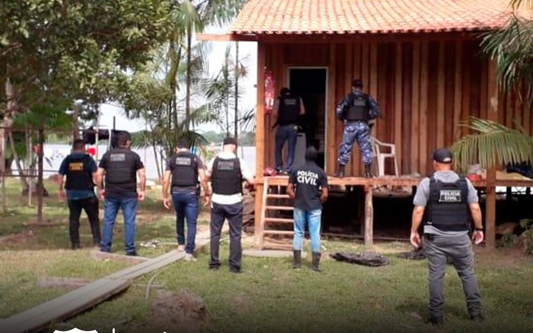 Polícia Civil prende homem por tráfico de drogas em Santa Izabel