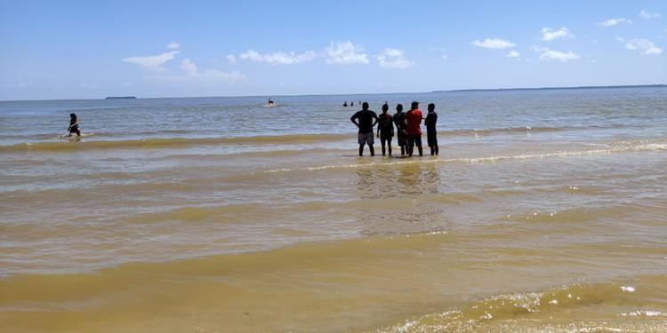 Jovem que havia desaparecido na Praia do amor, é encontrada