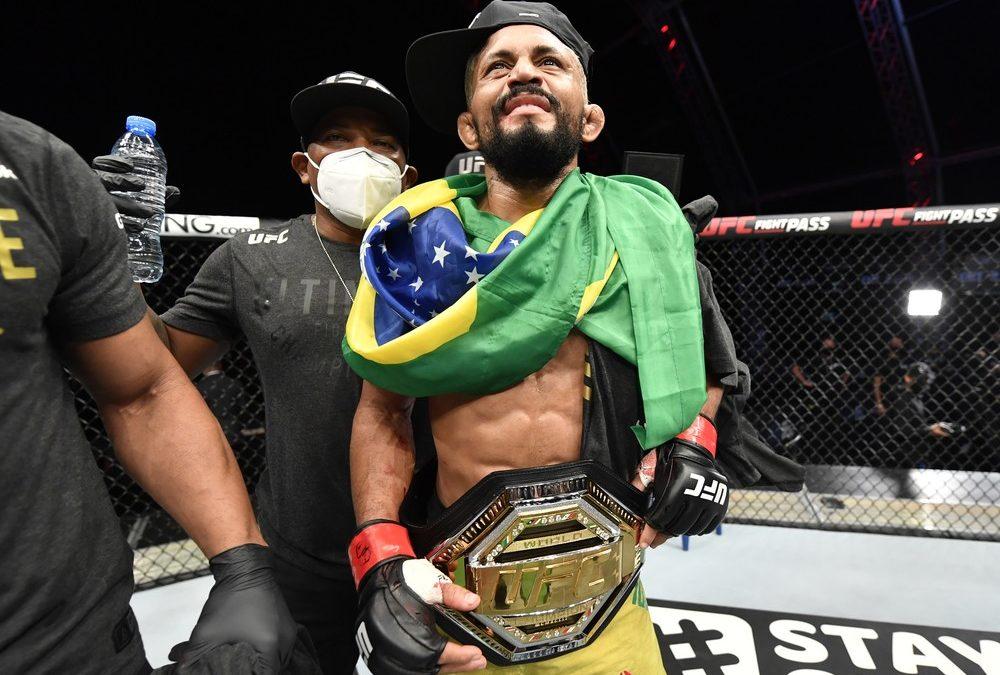 Paraense Deiveson Figueiredo é campeão peso-mosca do UFC