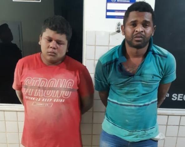 Polícia prende dupla de traficantes em Parauapebas