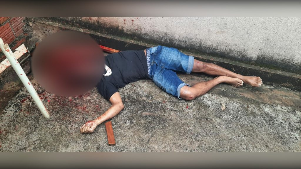 Em bebedeira, homem é morto no bairro Liberdade I, em Parauapebas