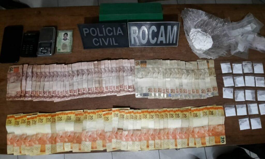 CRÉDITO/DÉBITO: Homem foi preso vendendo drogas e passando na maquininha