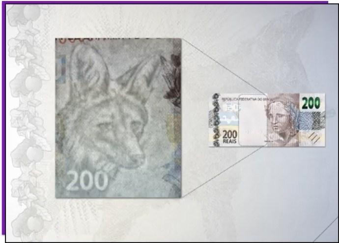 Veja a nova nota de R$200 e aprenda a identificar uma cédula falsa