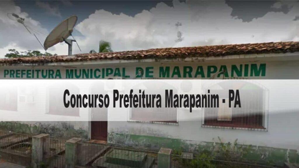 Concurso Prefeitura Marapanim PA 2020
