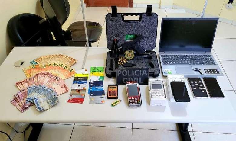 Marabá: PC desmonta esquema de falsificação de cartão de crédito
