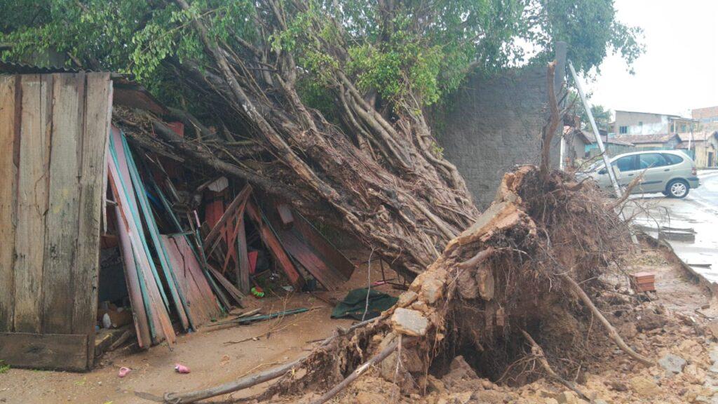 Semas explica fenômeno que ocasionou chuva e ventos fortes em Marabá