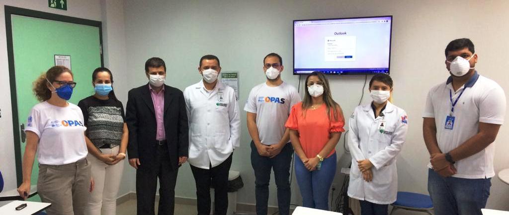 Hospital Regional do Sudeste do Pará recebe a visita da Organização Pan-Americana da Saúde