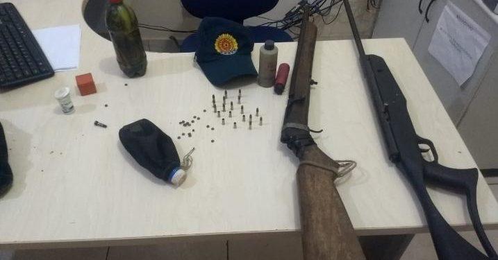 Homem dispara tiro na própria companheira, em Palestina