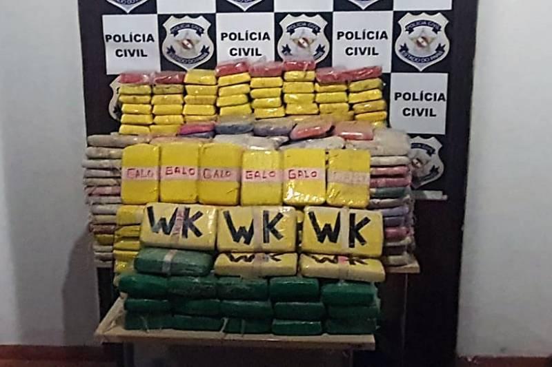 Polícia Civil apreende quase 500kg de cocaína e prende seis pessoas