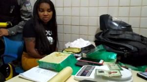 Flagrante: Mulher é presa com 1,5kg de Crack
