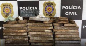 """Operação """"Black Friday"""" resulta na apreensão de quase 50kg em drogas"""