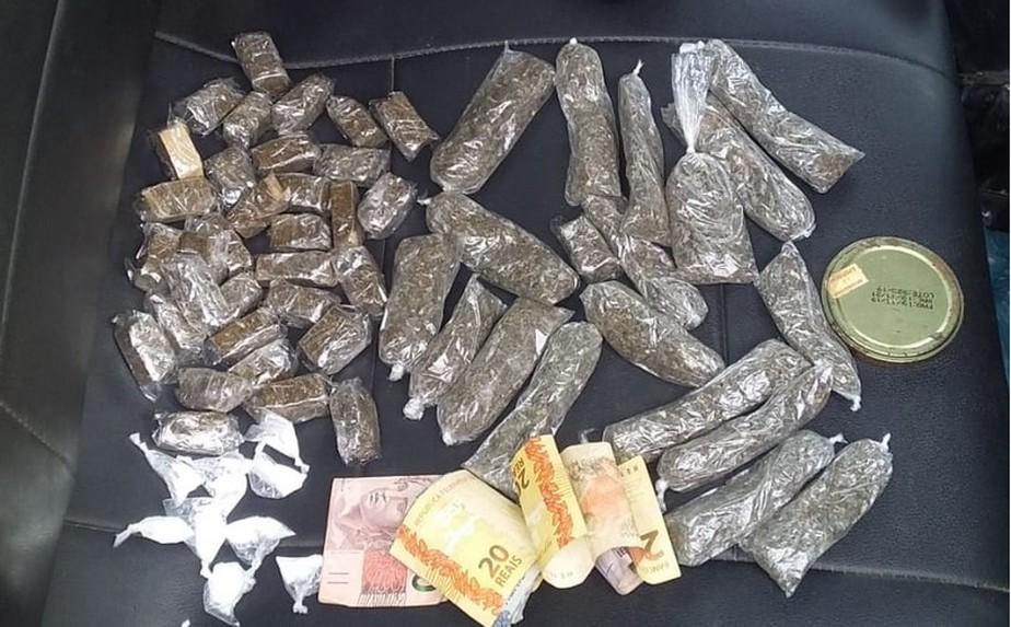 Drogas e arma são apreendidos pela PM em Marabá