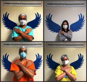 Hospital promove exposição fotográfica para homenagear profissionais da saúde no combate à Covid-19