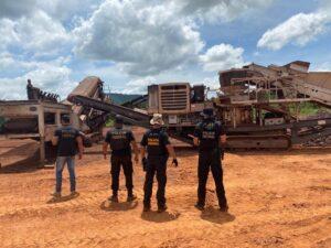 Dono e funcionários na área de mineração são presos, no Pará