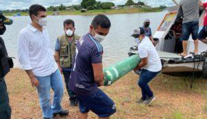 Após visitar oeste do Estado, Helder afirma que segunda onda da covid-19 chegou ao Pará