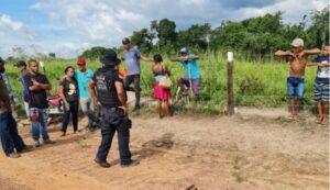 Trabalhadores sem terra são apreendidos após invasão de propriedade privada