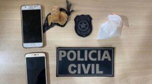 Dupla é presa em flagrante por tráfico aos e flagrada com cocaína e crack em Marabá