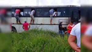 Homens são encontrados amordaçados e com tiros na cabeça dentro de ônibus no Pará