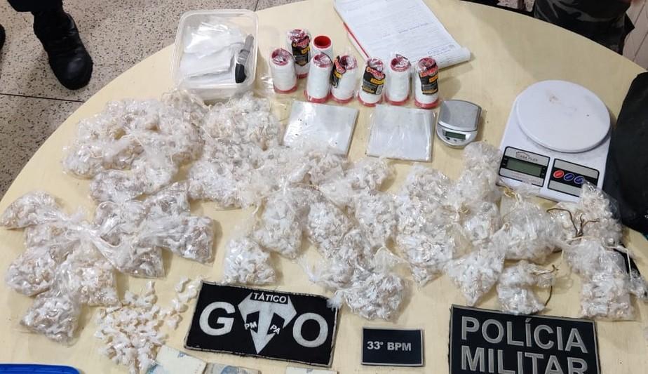 Casal é preso em flagrante com mais de 2 mil pedras de óxi