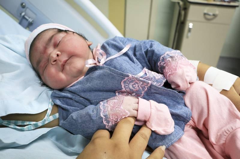 Gigantes: Bebê nasce com mais de 5kg, no Pará