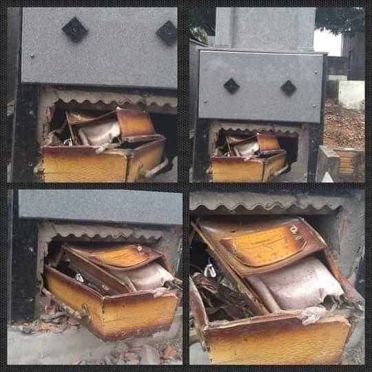 Ladrão quebra túmulo e rouba aliança do defunto