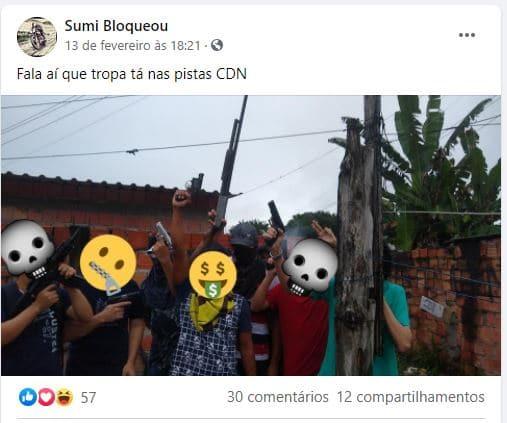 Chefões do tráfico se unem para acabar com o CV e surge em Manaus uma nova facção: Cartel do Norte; veja vídeos