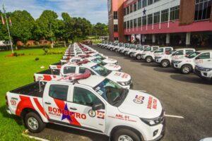 Helder anuncia concurso com 405 vagas e entrega viaturas para o Corpo de Bombeiros e Defesa Civil do Pará