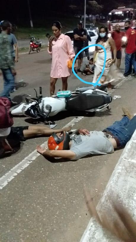 Em acidente motociclista colide com duas crianças e uma morre na hora