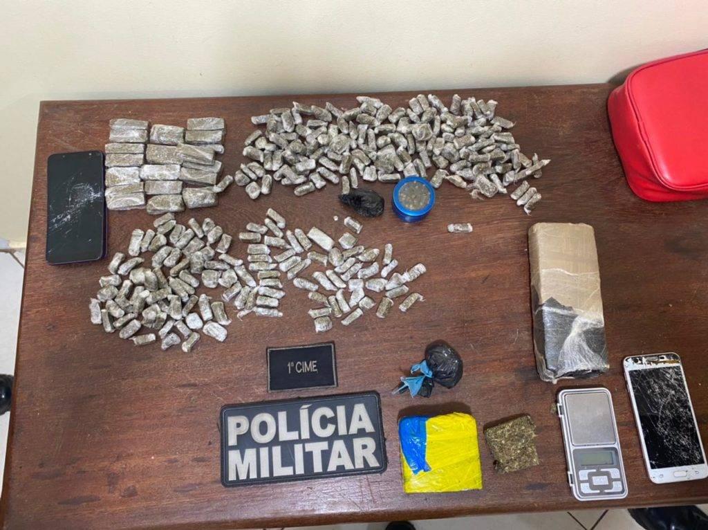 Traficante é preso na Nova Marabá com 1kg de Maconha